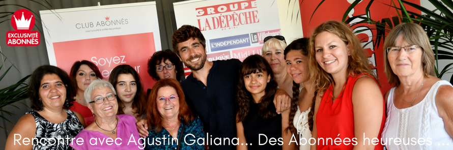 Rencontre VIP avec Agustín Galiana…