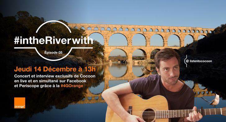 Cocoon en concert au Pont du Gard !
