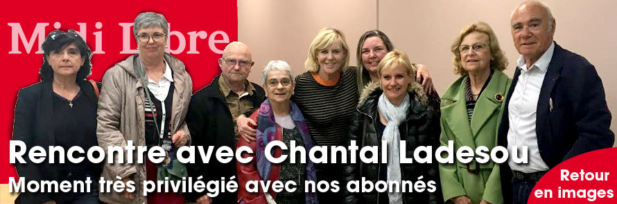 Chantal Ladesou à Béziers