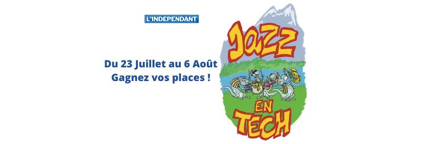 Remportez vos invitations pour le Festival Jazz en Tech
