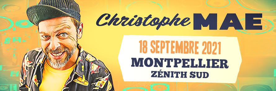 Christophe Maé au Zénith Sud !