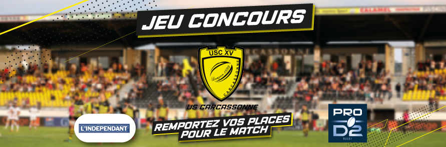 USC / Provence Rugby – USC/RC VANNES  – USC/ SU AGEN